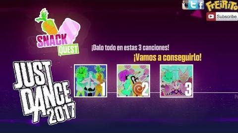 JUST DANCE 2017 SNACK QUEST Popipo, Cola Song, Oishii