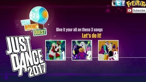 JUST DANCE 2017 YEAR ROUND QUEST Last Christmas, Ghost in the Keys, El Tiki