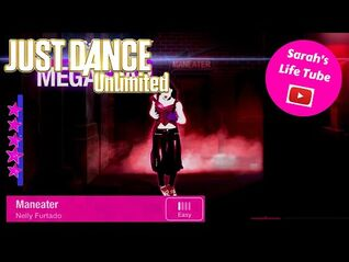 Maneater, Nelly Furtado - MEGASTAR - Gameplay - Just Dance 4 Unlimited -PS5-