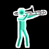 Conversation trumpet picto