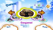 Gargamel tsdp menu