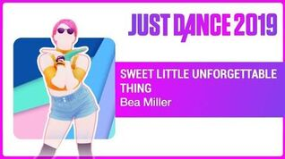 Just Dance 2019 Sweet Little Unforgettable Thing