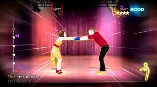 Just Dance 4 I've Had The Time of My Life again