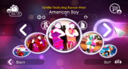 Americanboy jd2 menu