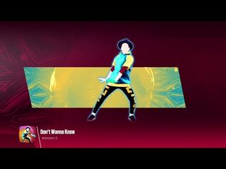 Just Dance 2018 (Unlimited)- Don't Wanna Know
