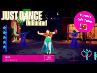 Leila, Cheb Salama - SUPERSTAR, 3-3 GOLD - Just Dance 2017 Unlimited -PS5-