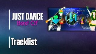 Tracklist - Just Dance Best Of