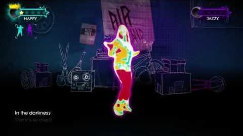 Just Dance 3 Just Create Nancys Choreography 3 stars 2 players xbox 360