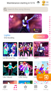 Lights jdnow menu phone 2020