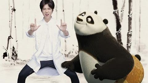 LuHan鹿晗 Deep 海底 Music Video(Kung Fu Panda3 Official Promotion Song)