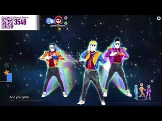 Just Dance Now gameplay - Let's Groove - Equinox Stars