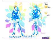 Shewolf conceptart 1