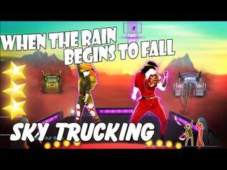 When The Rain Begins To Fall - Sky Trucking