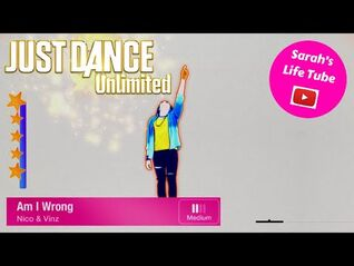 Am I Wrong, Nico & Vinz - 5 STARS - Gameplay - Just Dance 2016 Unlimited -PS5-