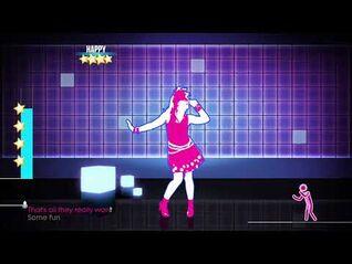 Just Dance 2017- Girls Just Wanna To Have Fun - SUPERSTAR