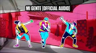 Mi Gente (Official Audio) - Just Dance Music