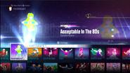 Acceptable jd2016 menu