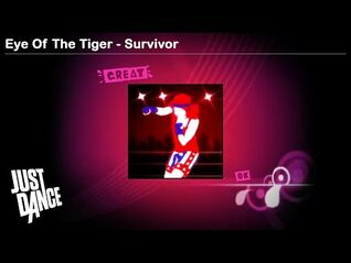 Eye Of The Tiger - Survivor - Just Dance 1