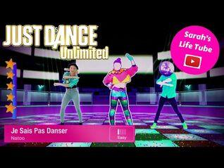 Je Sais Pas Danser, Natoo - 5 STARS - Gameplay - Just Dance 2017 Unlimited -PS5-