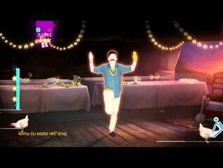 Just Dance 2014 Wii U Gameplay - Bog Bog Orkestar- Isidora