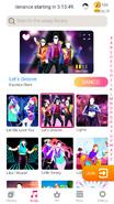 Letsgroove jdnow menu phone 2020