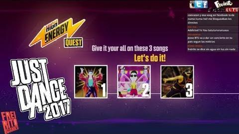 JUST DANCE 2017 High Energy Quest Dont Stop Me Now - Daddy - Scream & Shout Superstar