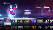 Firework jd2016 menu
