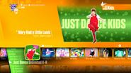 Kidsmaryhadalittlelamb jd2018 menu
