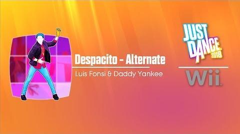 Despacito - Alternate Just Dance 2018 Wii