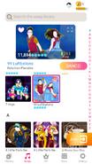 Luftballons jdnow menu phone 2020