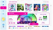Rainonme jd2021 menu