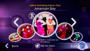 Americanboy jd2 store menu