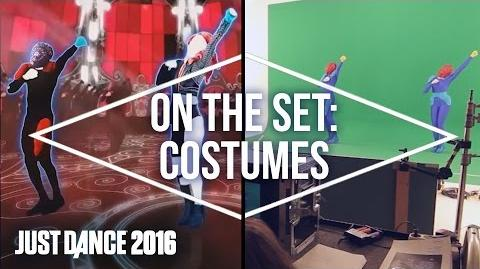 On the Set with Just Dance 2016 Costumes