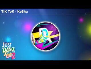 TiK ToK - Just Dance Wii 2