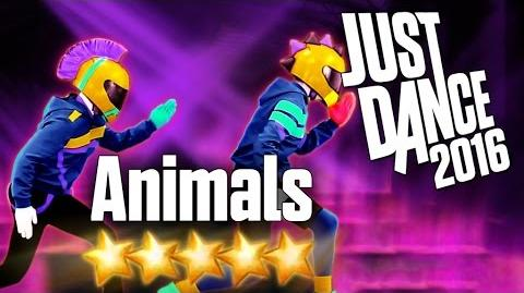 Just Dance 2016 - Animals - 5 stars