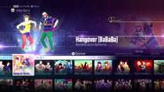 Hangover jd2016 menu