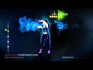 Just Dance 4 - Maneater - Nelly Furtardo - All Perfects!