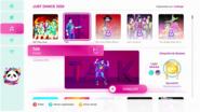Talk 2020 demo menu