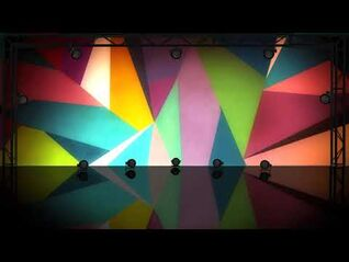 Hey Ya! background - Just Dance Greatest Hits - Best Of (Wii)