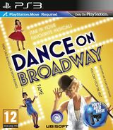 Danceonbroadway ps3 pal cover