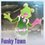 Funkytown different crediting