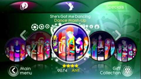Just Dance 3 - Menu - Song List - Target Edition - Mashups & DLC Store