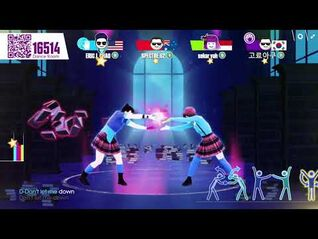 Just Dance Now- Don't Let Me Down by The Chainsmokers ft