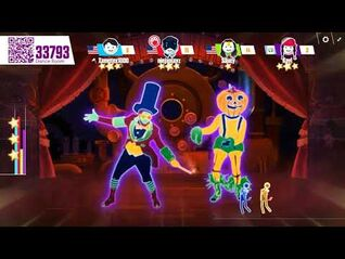 Just dance now professor pumplestickle