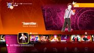 Superstition jd2018 menu