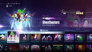 Ghostbusters jd2016 menu