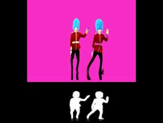 Just Dance 2015 Extract - I Love It (Guard)
