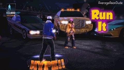 The Hip Hop Dance Experience - Run It - Go Hard Difficulty