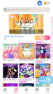 Dansvandefarao jdnow menu phone 2020