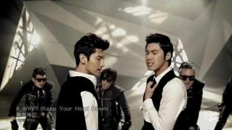 HD DBSK TVXQ - Keep Your Head Down (Why) Japanese Ver